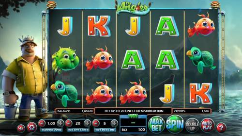 The Angler review on Big Bonus Slots