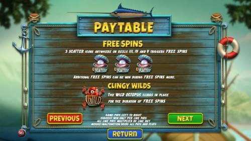 The Angler review on Big Bonus Slots
