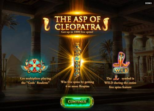The Asp of Cleopatra review on Big Bonus Slots