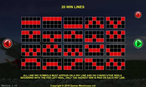 The Baron Big Bonus Slots Win Lines 1-20