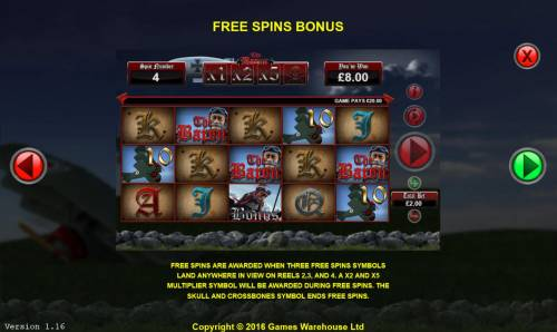 The Baron Big Bonus Slots Free Spins Bonus Rules