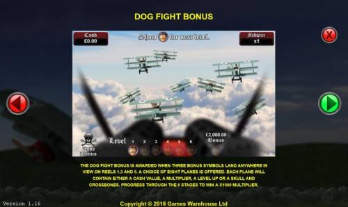 The Baron Big Bonus Slots Dog Fight Bonus Rules
