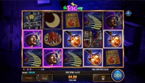 The Big Easy review on Big Bonus Slots