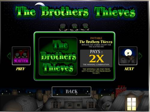 The Brothers Thieves review on Big Bonus Slots