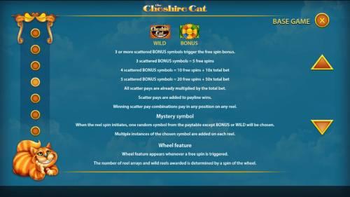 The Cheshire Cat review on Big Bonus Slots