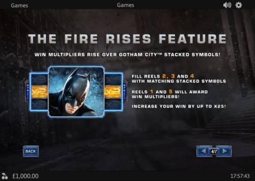 The Dark Knight Rises review on Big Bonus Slots