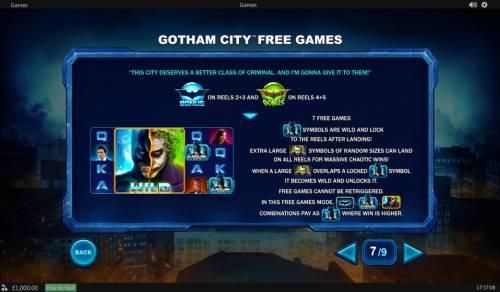 The Dark Knight review on Big Bonus Slots