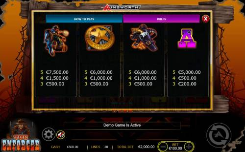 The Enforcer review on Big Bonus Slots