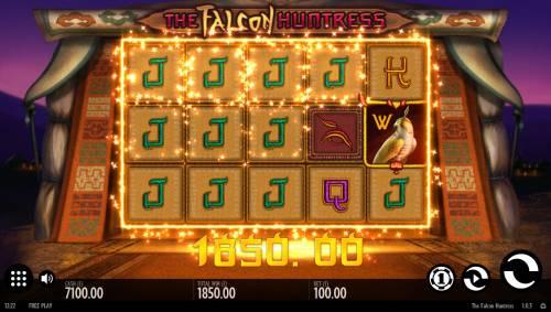 The Falcon Huntress review on Big Bonus Slots