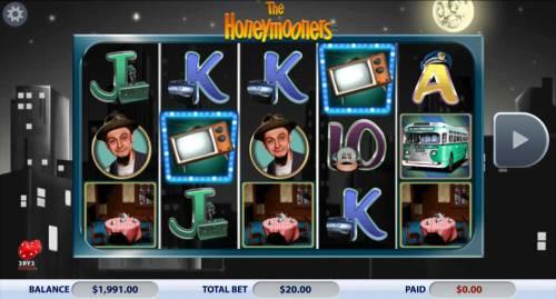 The Honeymooners review on Big Bonus Slots