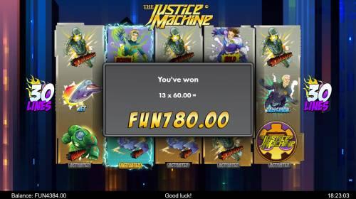 The Justice Machine review on Big Bonus Slots