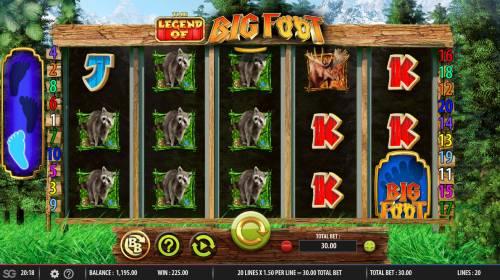 The Legend of Big Foot review on Big Bonus Slots