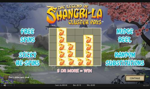 The Legend of Shangri-La review on Big Bonus Slots