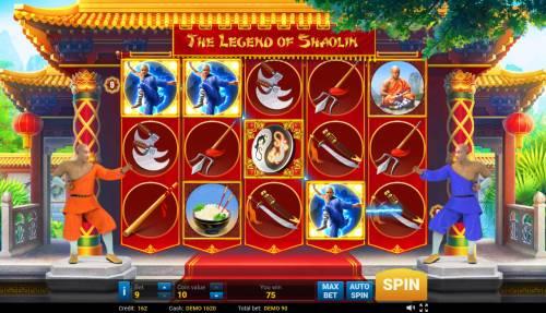 The Legend of Shaolin Big Bonus Slots Four of a kind
