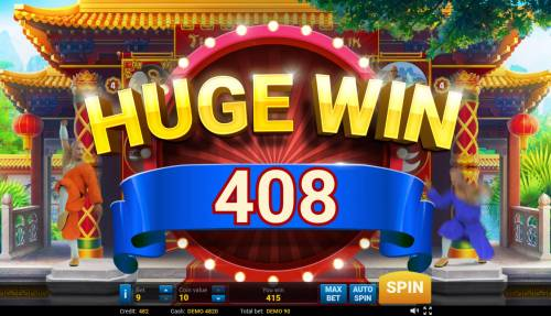 The Legend of Shaolin Big Bonus Slots Huge Win