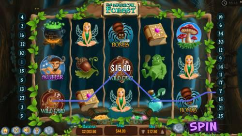 The Magical Forest Big Bonus Slots Three of a Kind