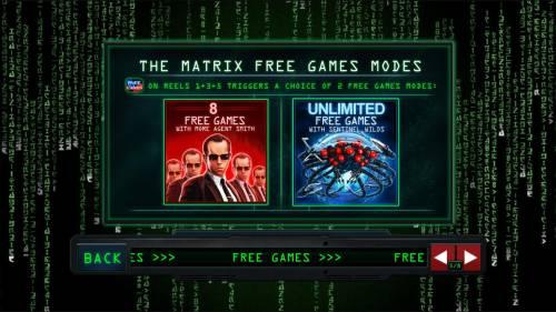 The Matrix Big Bonus Slots Free Games Modes