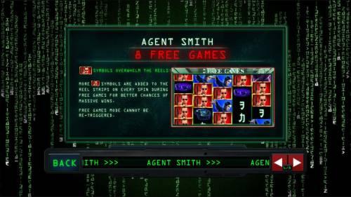The Matrix Big Bonus Slots Agent Smith Free Games Rules