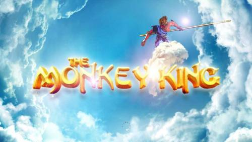 The Monkey King Big Bonus Slots Splash screen - game loading - Chinese mythology