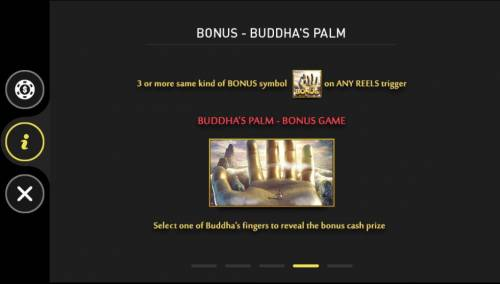 The Monkey King Big Bonus Slots Buddhas Palm Bonus Game Rules