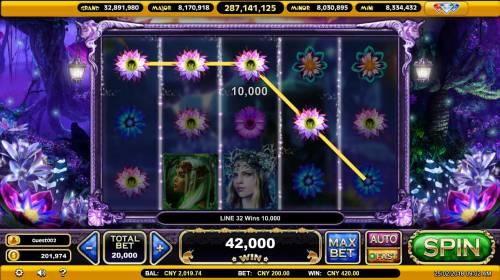 The Mythical Unicorn Big Bonus Slots Multiple winning paylines