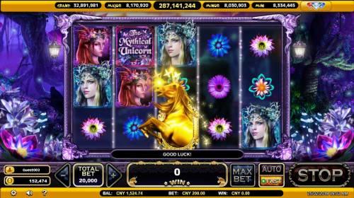 The Mythical Unicorn Big Bonus Slots