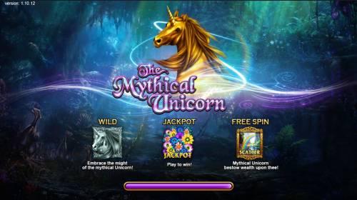 The Mythical Unicorn Big Bonus Slots Introduction