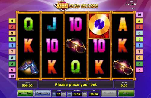 The Reel King Gold Records review on Big Bonus Slots