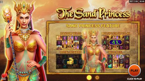 The Sand Princess review on Big Bonus Slots