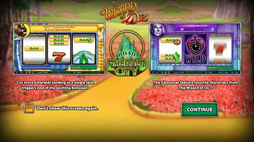 The Wizard of Oz Road to Emerald City review on Big Bonus Slots