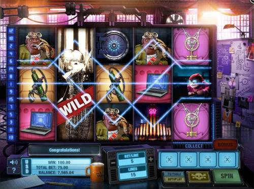 The Casino Job review on Big Bonus Slots