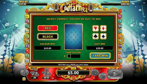 The Codfather review on Big Bonus Slots