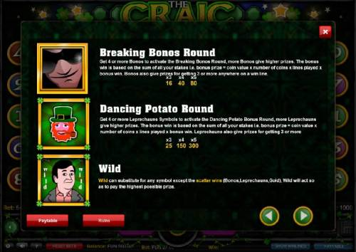 The Craic review on Big Bonus Slots
