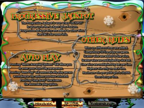 The Elf Wars Big Bonus Slots Auto Play and Other Rules