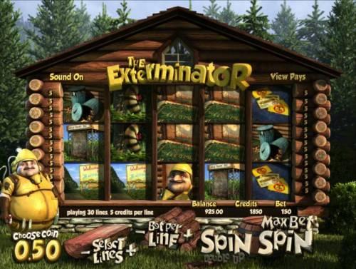 The Exterminator review on Big Bonus Slots