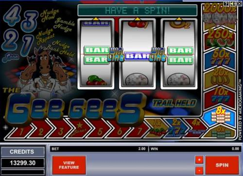 The Gee Gees review on Big Bonus Slots