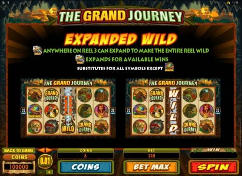 The Grand Journey review on Big Bonus Slots