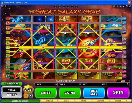 The Great Galaxy Grab review on Big Bonus Slots