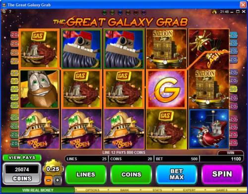 The Great Galaxy Grab review on Big Bonus Slots