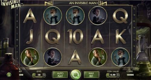 The Invisible Man review on Big Bonus Slots