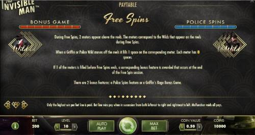The Invisible Man review on Big Bonus Slots