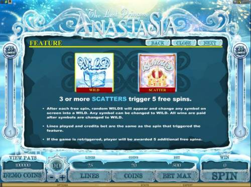The Lost Princess Anastasia review on Big Bonus Slots