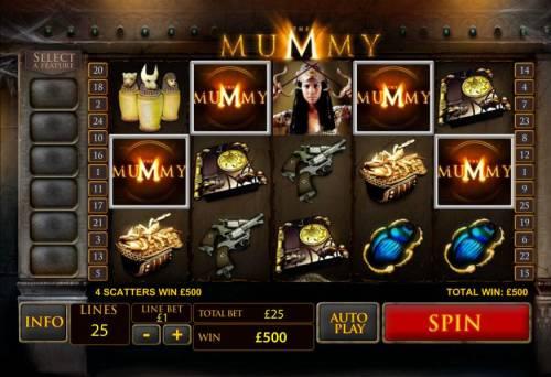 The Mummy review on Big Bonus Slots