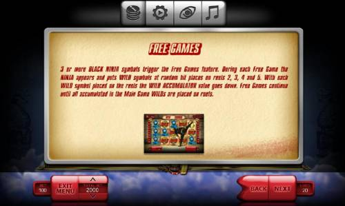 The Ninja review on Big Bonus Slots