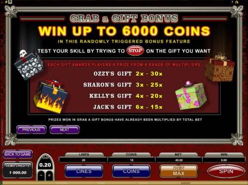 The Osbournes review on Big Bonus Slots