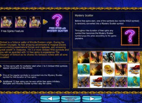 The Voyages of Sinbad review on Big Bonus Slots