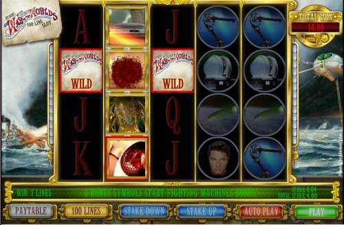 The War Of The Worlds review on Big Bonus Slots