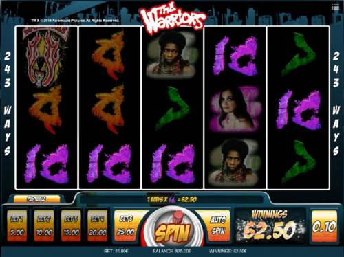 The Warriors review on Big Bonus Slots