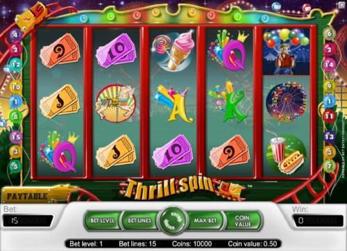 Thrill Spin review on Big Bonus Slots