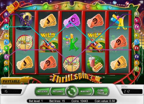 Thrill Spin review on Big Bonus Slots